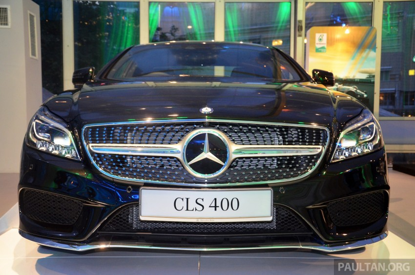 Mercedes-Benz CLS 400 facelift previewed in Malaysia Image #321401