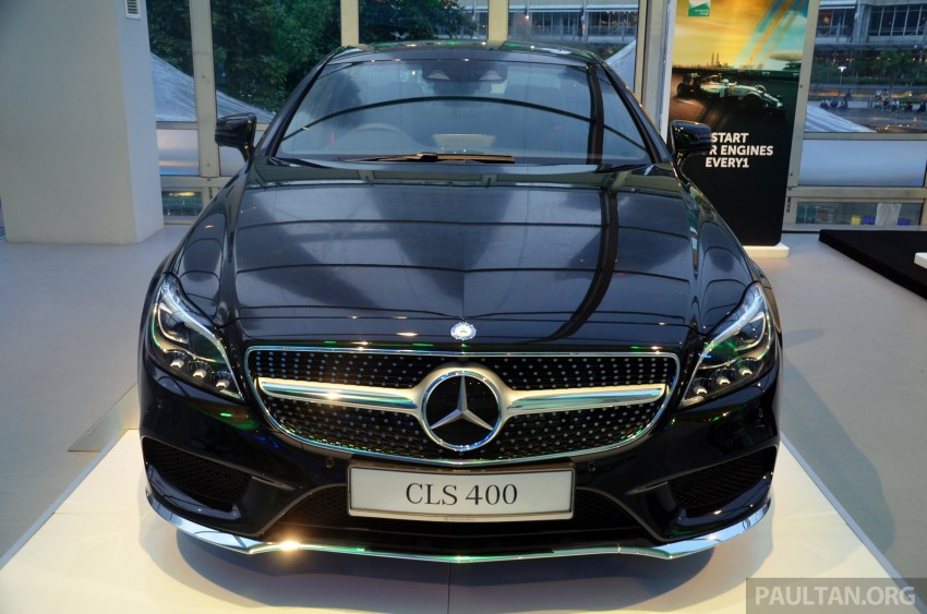 Mercedes-Benz CLS 400 facelift previewed in Malaysia Image #321361