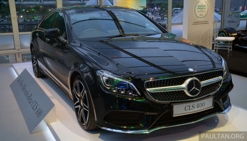 Mercedes-Benz CLS 400 facelift previewed in Malaysia Image #321363