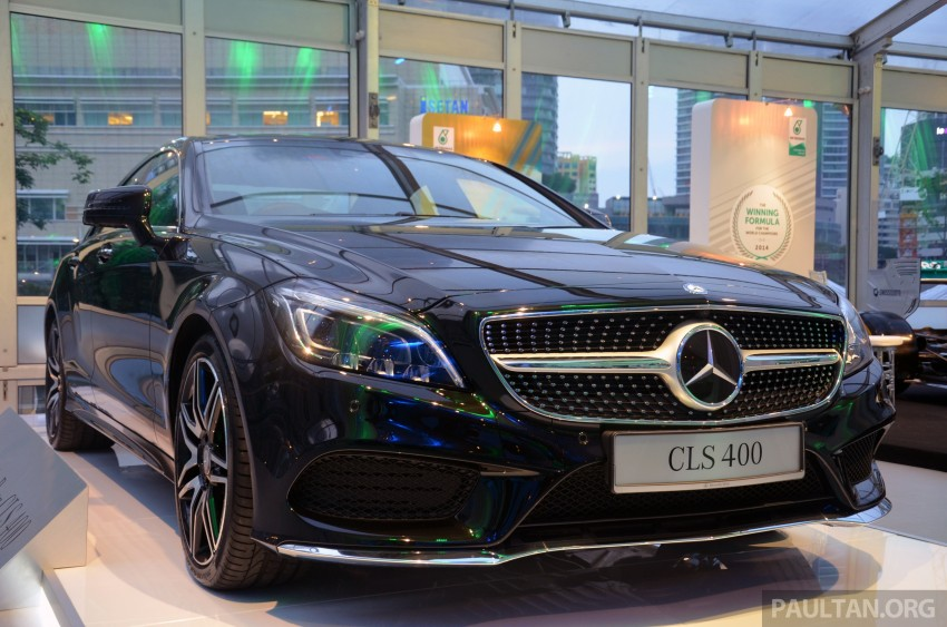 Mercedes-Benz CLS 400 facelift previewed in Malaysia Image #321364