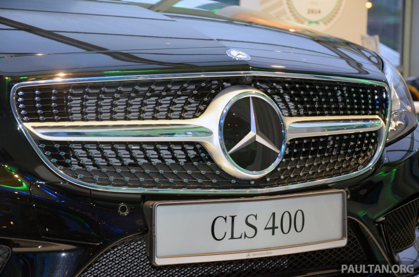 Mercedes-Benz CLS 400 facelift previewed in Malaysia Image #321365