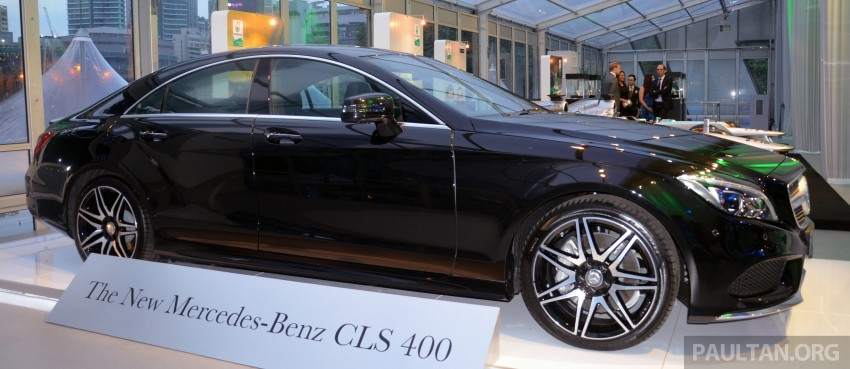 Mercedes-Benz CLS 400 facelift previewed in Malaysia Image #321367