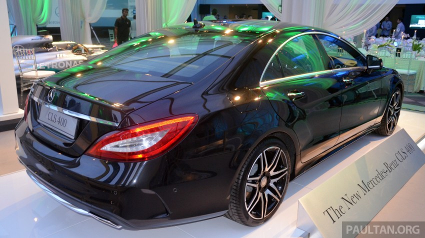 Mercedes-Benz CLS 400 facelift previewed in Malaysia Image #321370
