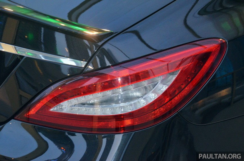 Mercedes-Benz CLS 400 facelift previewed in Malaysia Image #321371