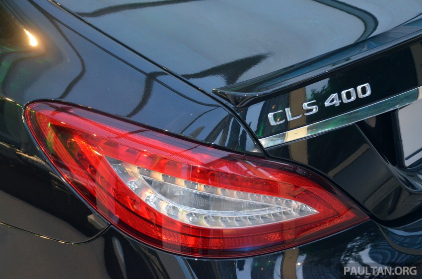 Mercedes-Benz CLS 400 facelift previewed in Malaysia Image #321372