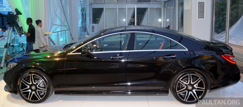 Mercedes-Benz CLS 400 facelift previewed in Malaysia Image #321376