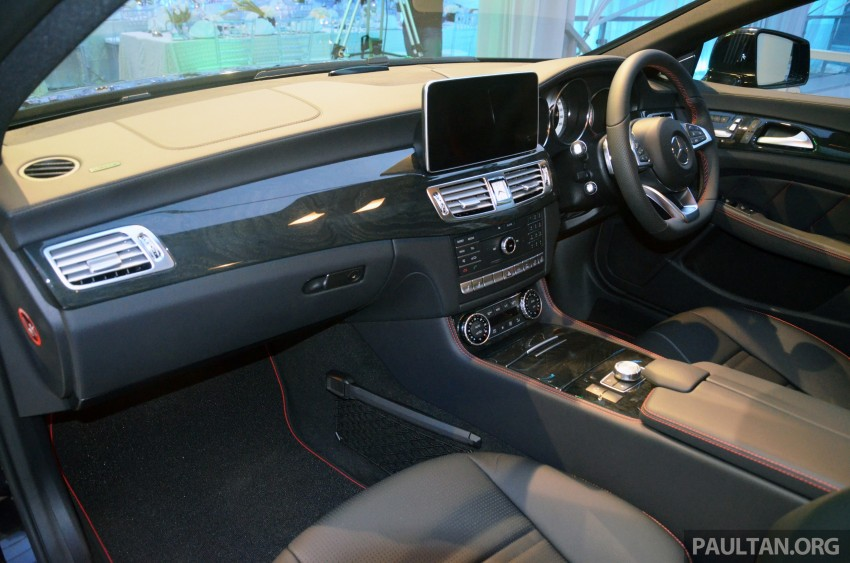 Mercedes-Benz CLS 400 facelift previewed in Malaysia Image #321377