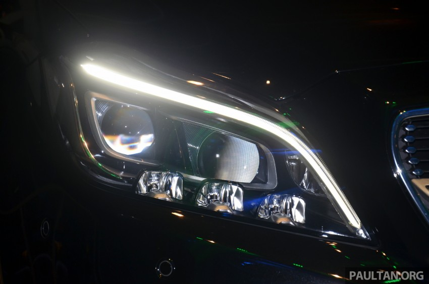 Mercedes-Benz CLS 400 facelift previewed in Malaysia Image #321415