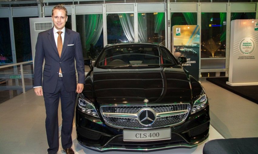 Mercedes-Benz CLS 400 facelift previewed in Malaysia Image #321728