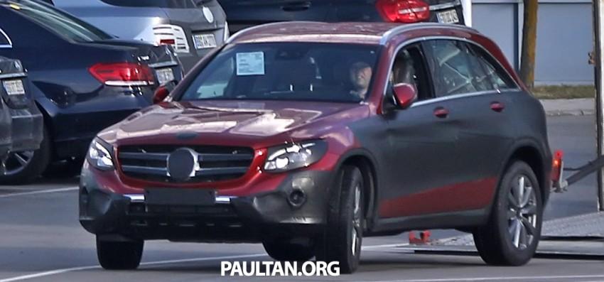 SPYSHOTS: Mercedes-Benz GLC-Class (formerly GLK) Image #319161
