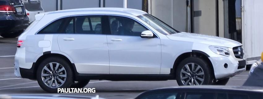 SPYSHOTS: Mercedes-Benz GLC-Class (formerly GLK) Image #319163