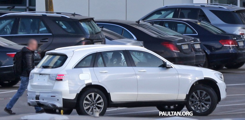 SPYSHOTS: Mercedes-Benz GLC-Class (formerly GLK) Image #319164