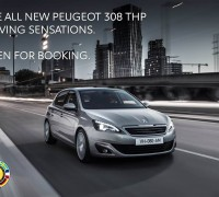 peugeot 308 open booking
