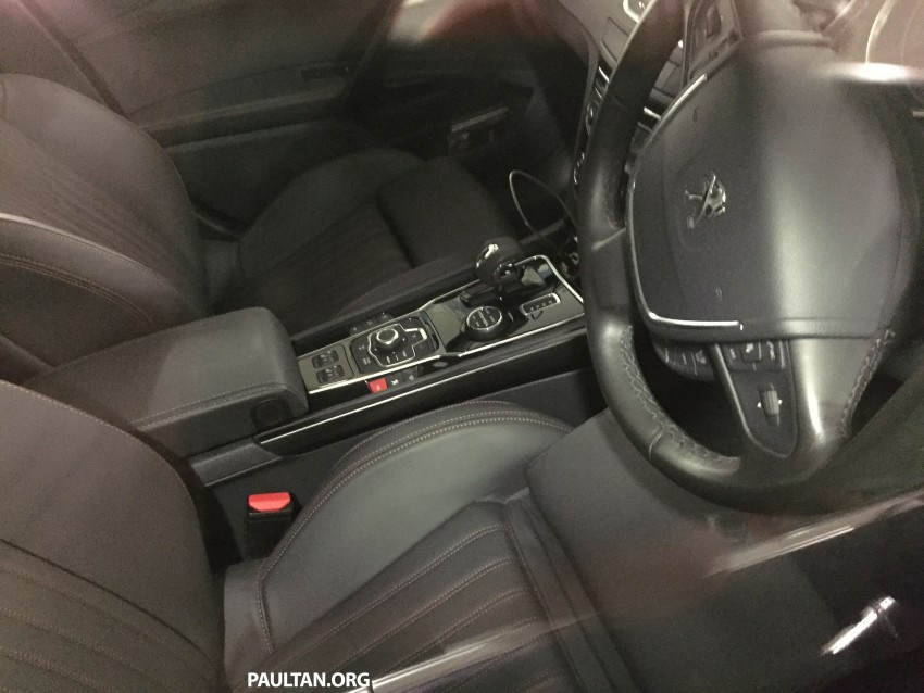 SPIED: Peugeot 508 RXH HYbrid4 in basement parking Image #320277