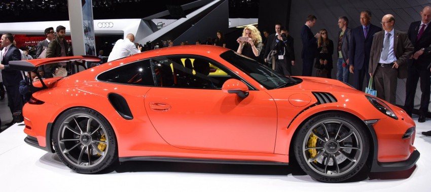 2016 Porsche 911 GT3 RS unveiled –500 PS, PDK only Image #316212