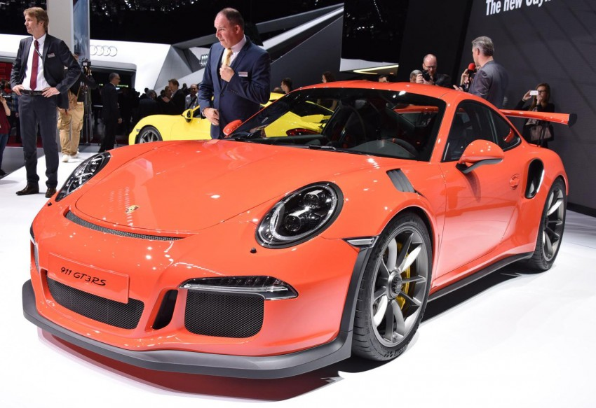 2016 Porsche 911 GT3 RS unveiled –500 PS, PDK only Image #316221