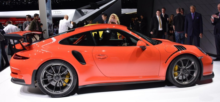 2016 Porsche 911 GT3 RS unveiled –500 PS, PDK only Image #316213