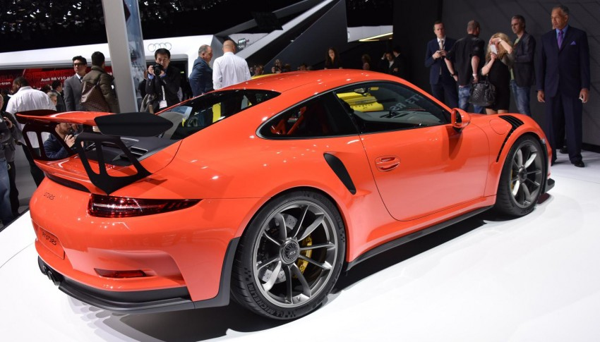 2016 Porsche 911 GT3 RS unveiled –500 PS, PDK only Image #316214