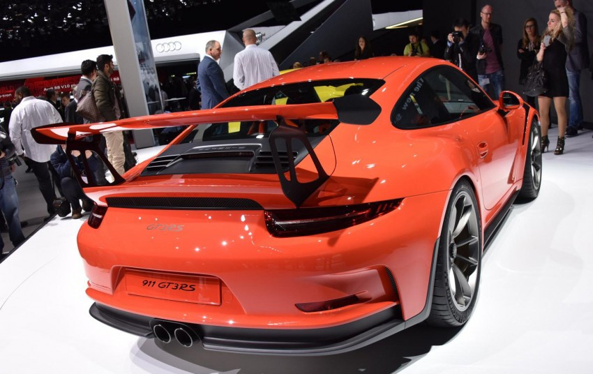 2016 Porsche 911 GT3 RS unveiled –500 PS, PDK only Image #316215