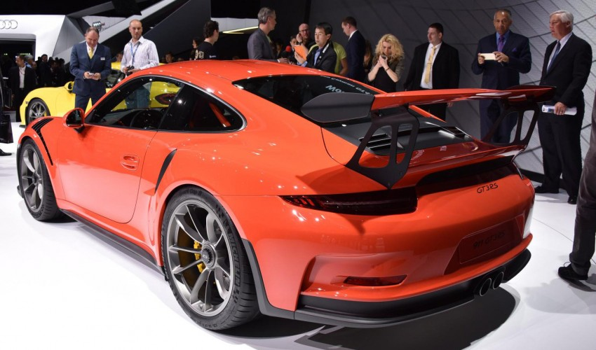 2016 Porsche 911 GT3 RS unveiled – 500 PS, PDK only Image #316217