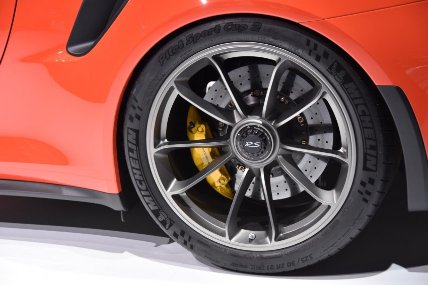 2016 Porsche 911 GT3 RS unveiled – 500 PS, PDK only Image #316218