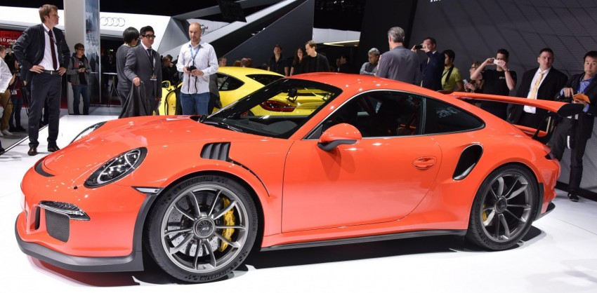 2016 Porsche 911 GT3 RS unveiled –500 PS, PDK only Image #316219