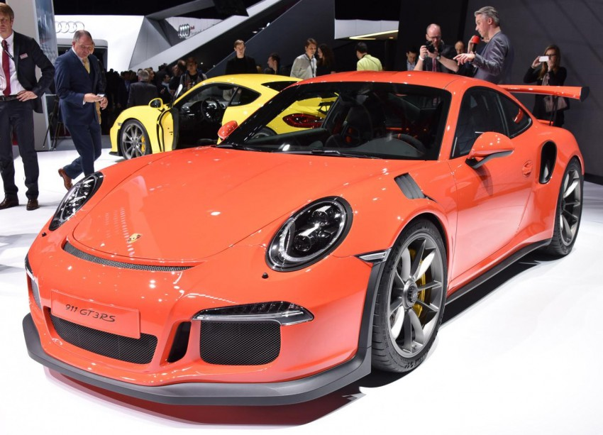 2016 Porsche 911 GT3 RS unveiled –500 PS, PDK only Image #316220