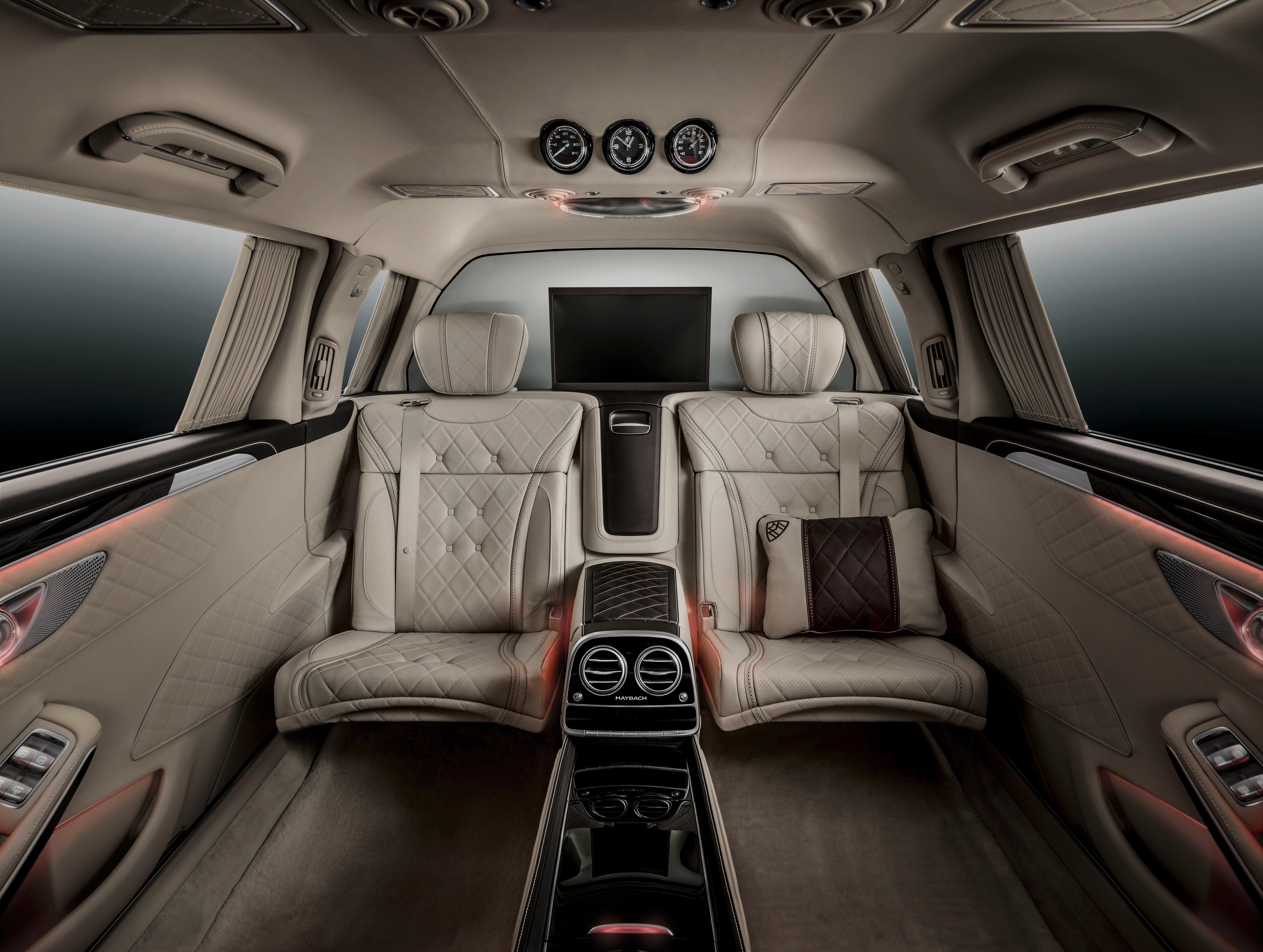 Mercedes-Maybach S600 Pullman debuts at Geneva Image 316073