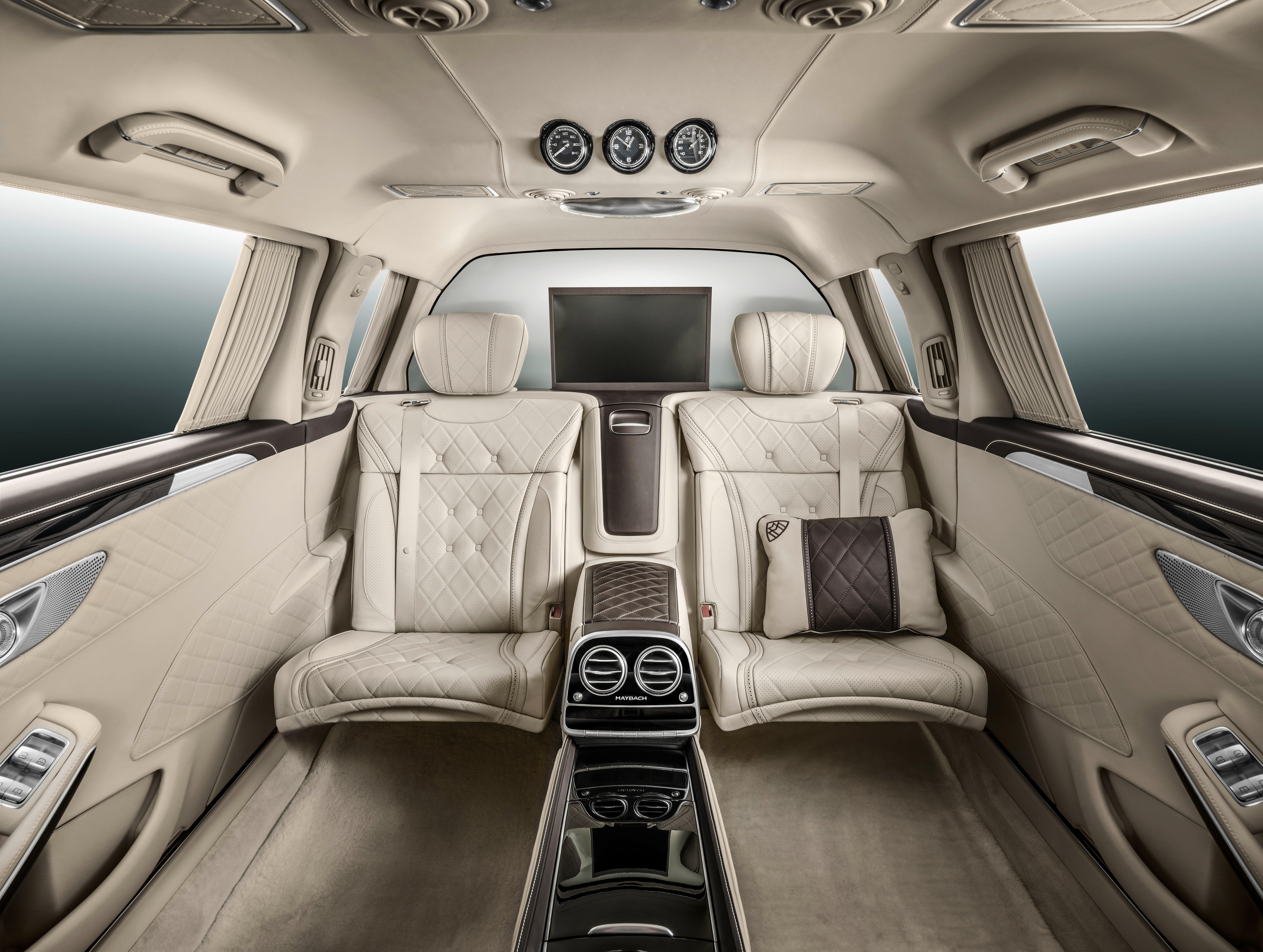 Mercedes Maybach S600 Pullman Debuts At Geneva Paul Tan Image 316075