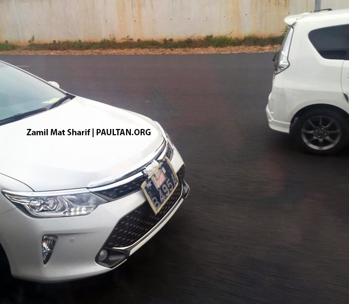 Toyota Camry facelift spotted on the road in Malaysia! Image #319697