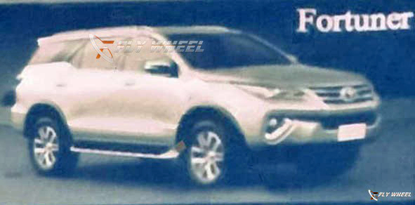 2016 Toyota Fortuner leaked: futuristic, 'floating' roof