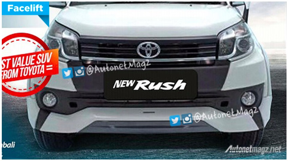Toyota Rush 2018 >> 2015 Toyota Rush facelift sales brochure leaked online Paul Tan - Image 316872