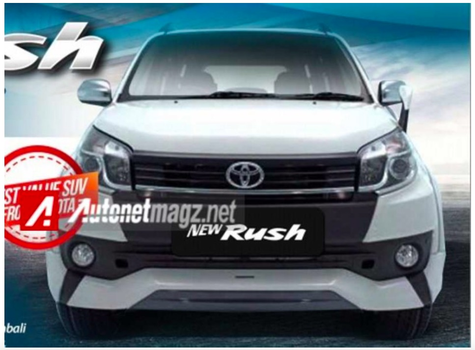 2015 Toyota Rush Facelift Sales Brochure Leaked Online