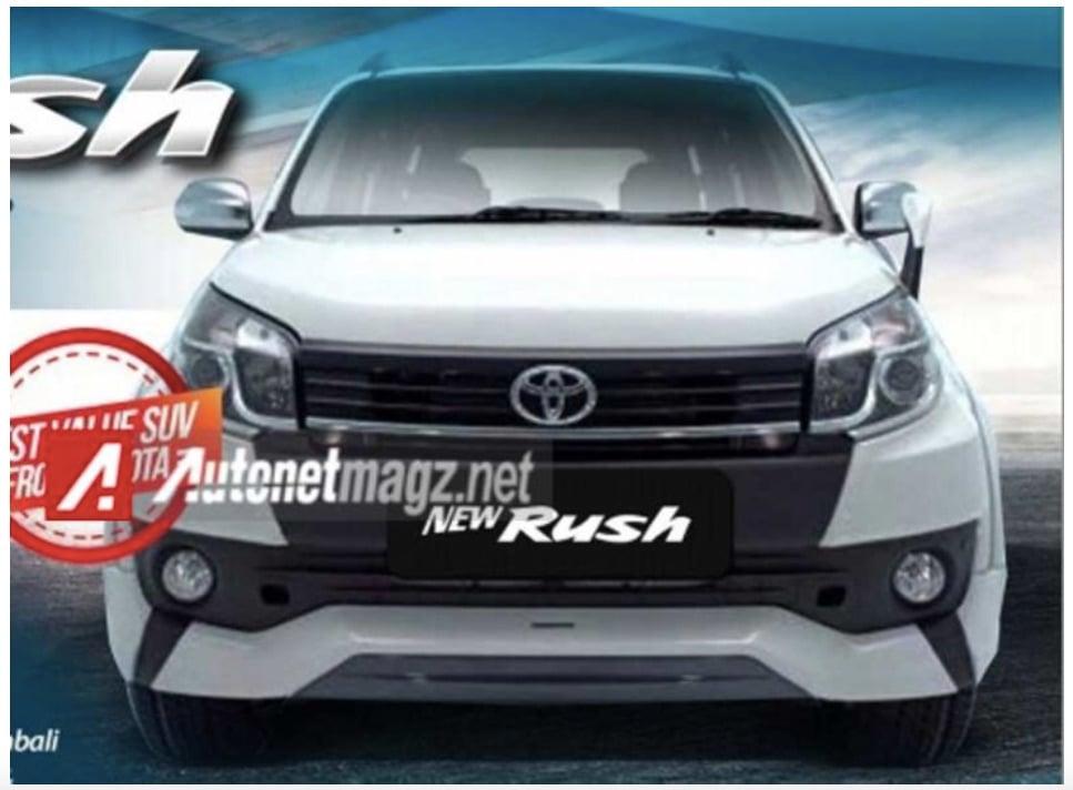 2015 Toyota Rush Facelift Sales Brochure Leaked Online
