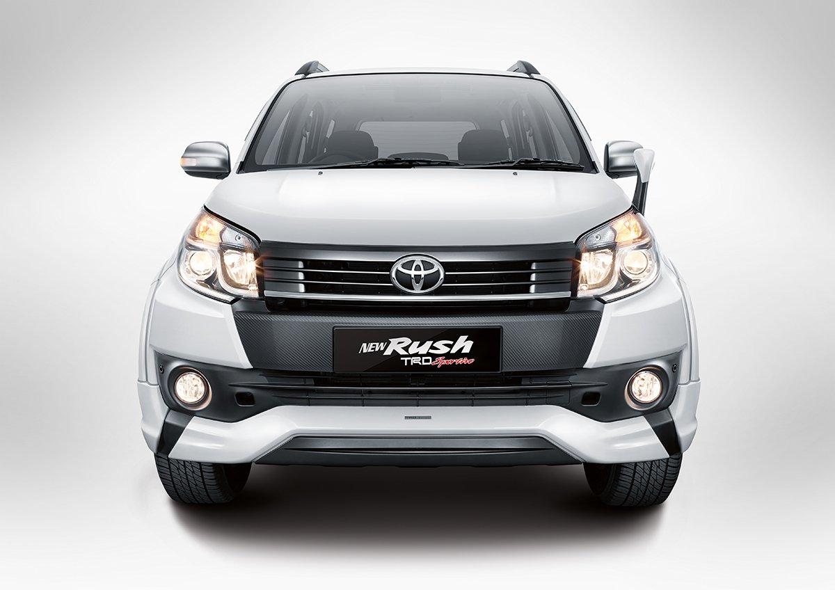 Toyota Rush, Daihatsu Terios Facelift Now In Indonesia