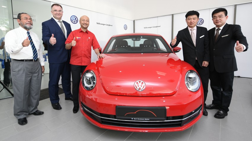 Volkswagen upgrades Langkawi centre to 3S facility Image #316383