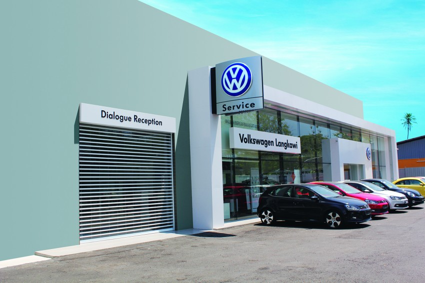 Volkswagen upgrades Langkawi centre to 3S facility Image #316386