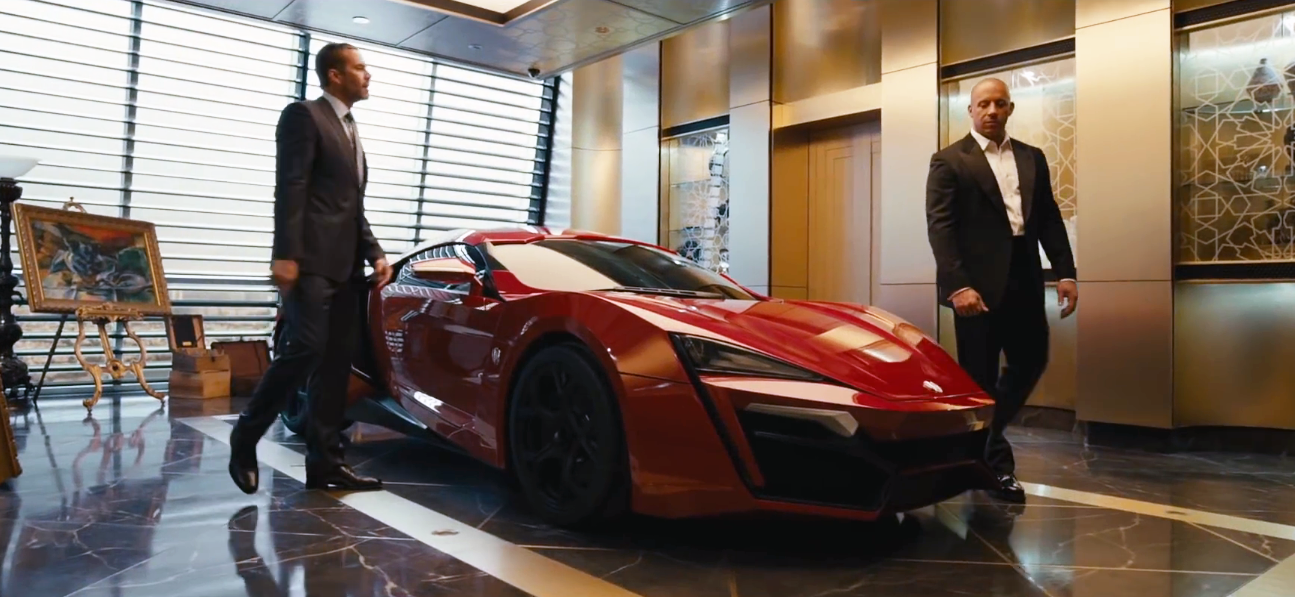 Fast And Furious 7 Red Cars Image    L  Big Movies Global Tv Edisi