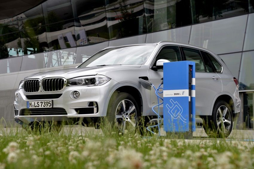 BMW X5 xDrive40e revealed – first non-i plug-in hybrid Image #353165