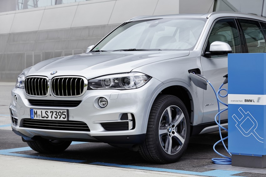 BMW X5 xDrive40e revealed – first non-i plug-in hybrid Image #353171