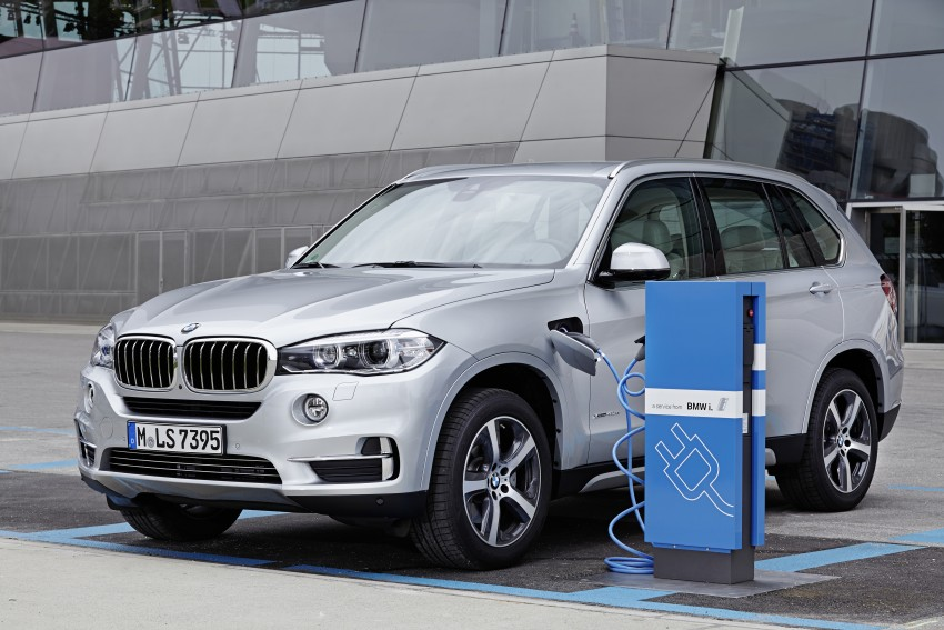 BMW X5 xDrive40e revealed – first non-i plug-in hybrid Image #353174