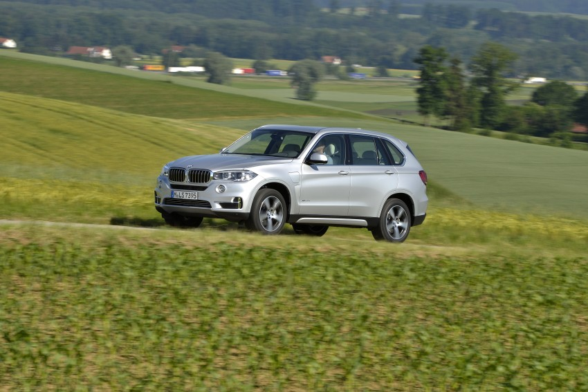 BMW X5 xDrive40e revealed – first non-i plug-in hybrid Image #353209