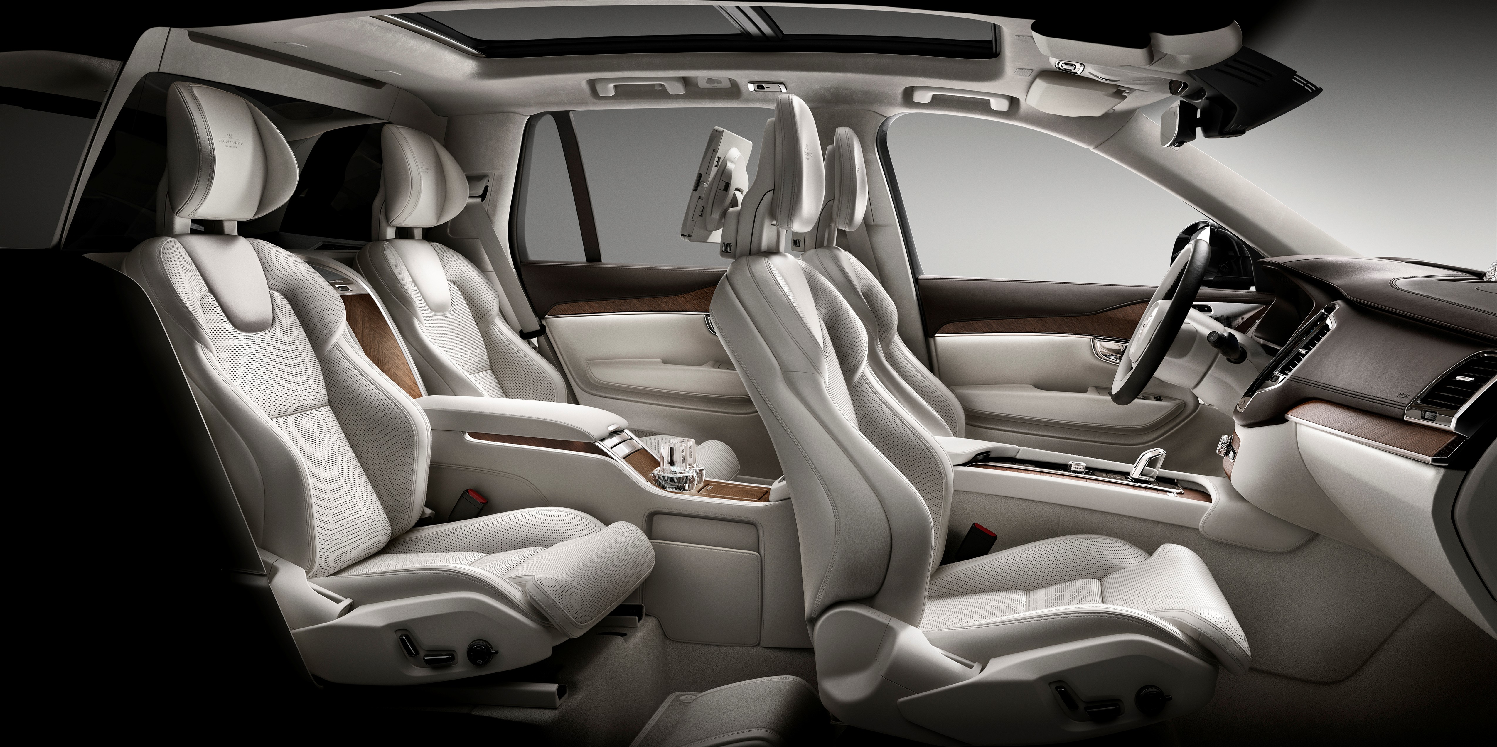 Volvo Xc90 Excellence Luxurious 4 Seat Suv Debuts Paul Tan Image