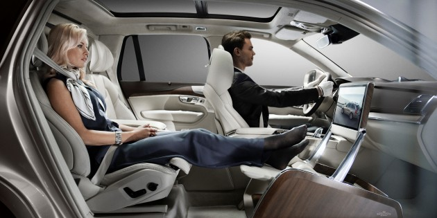 Shanghai 2015 Volvo Xc90 Lounge Console Unveiled