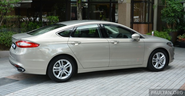 2015 Ford Mondeo MY preview 2