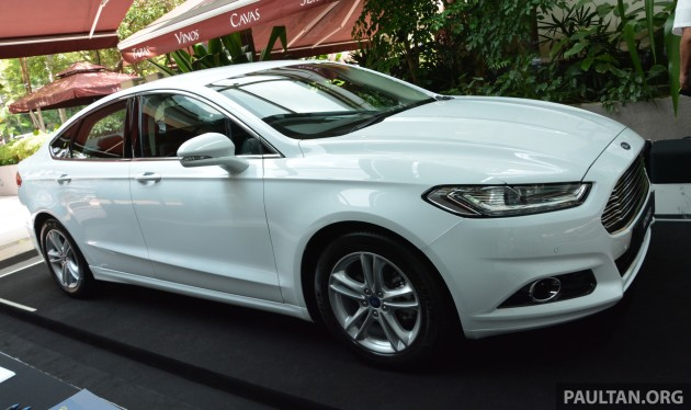 2015 Ford Mondeo MY preview 3