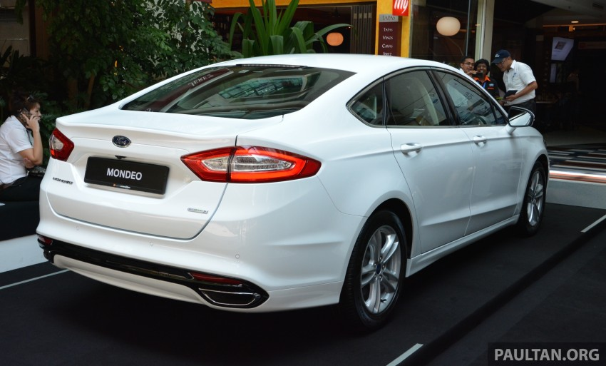 GALLERY: 2015 Ford Mondeo – first drive impressions Image #323496