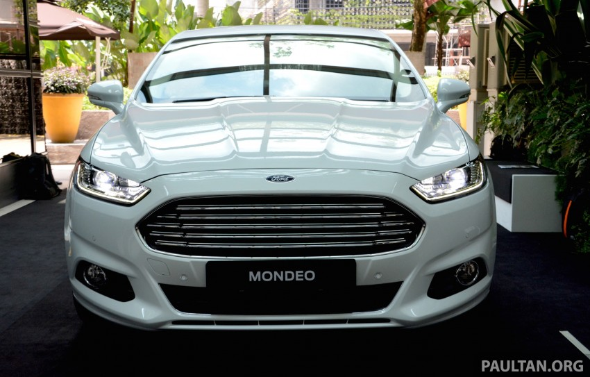 GALLERY: 2015 Ford Mondeo – first drive impressions Image #323497
