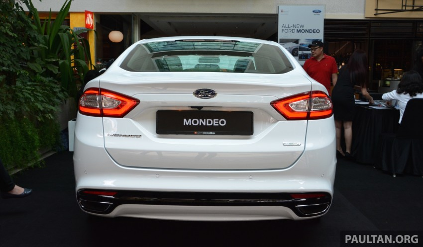 GALLERY: 2015 Ford Mondeo – first drive impressions Image #323498