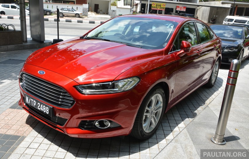 GALLERY: 2015 Ford Mondeo – first drive impressions Image #323499